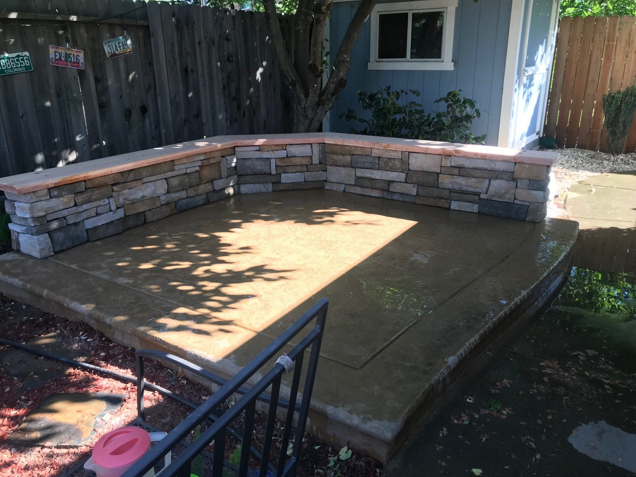 this is an image of the concord concrete masonry patio pavers project