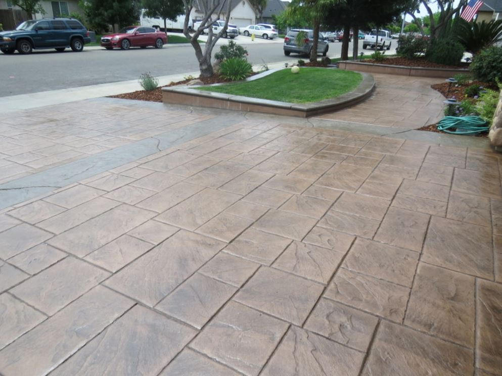 this image shows pleasant hill concrete contractor