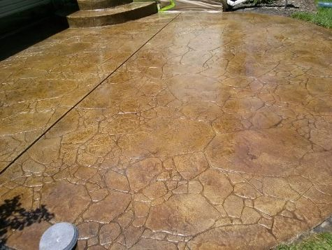 this picture shows concord concrete patio
