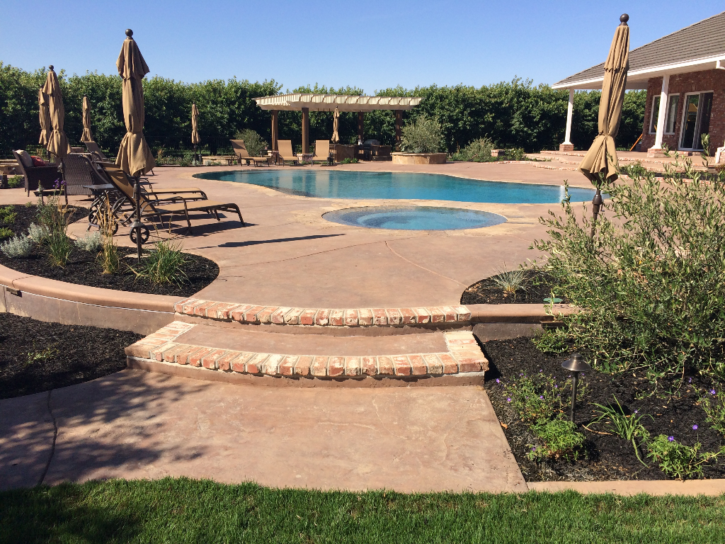 this is a picture of a project by concord concrete masonry concrete contractor