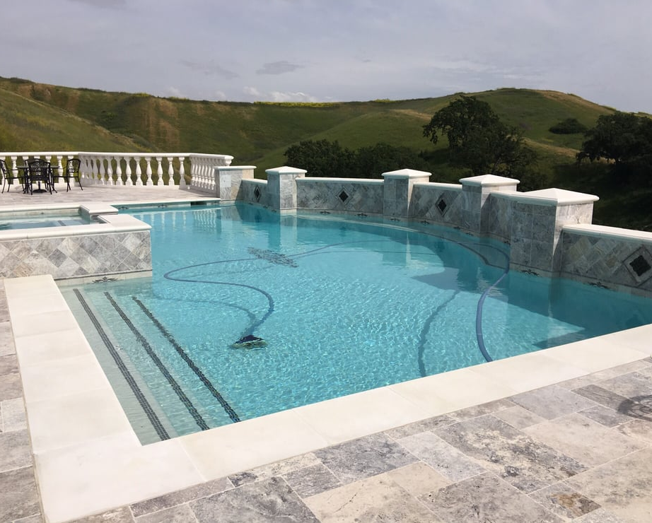 this image shows concord pool deck project