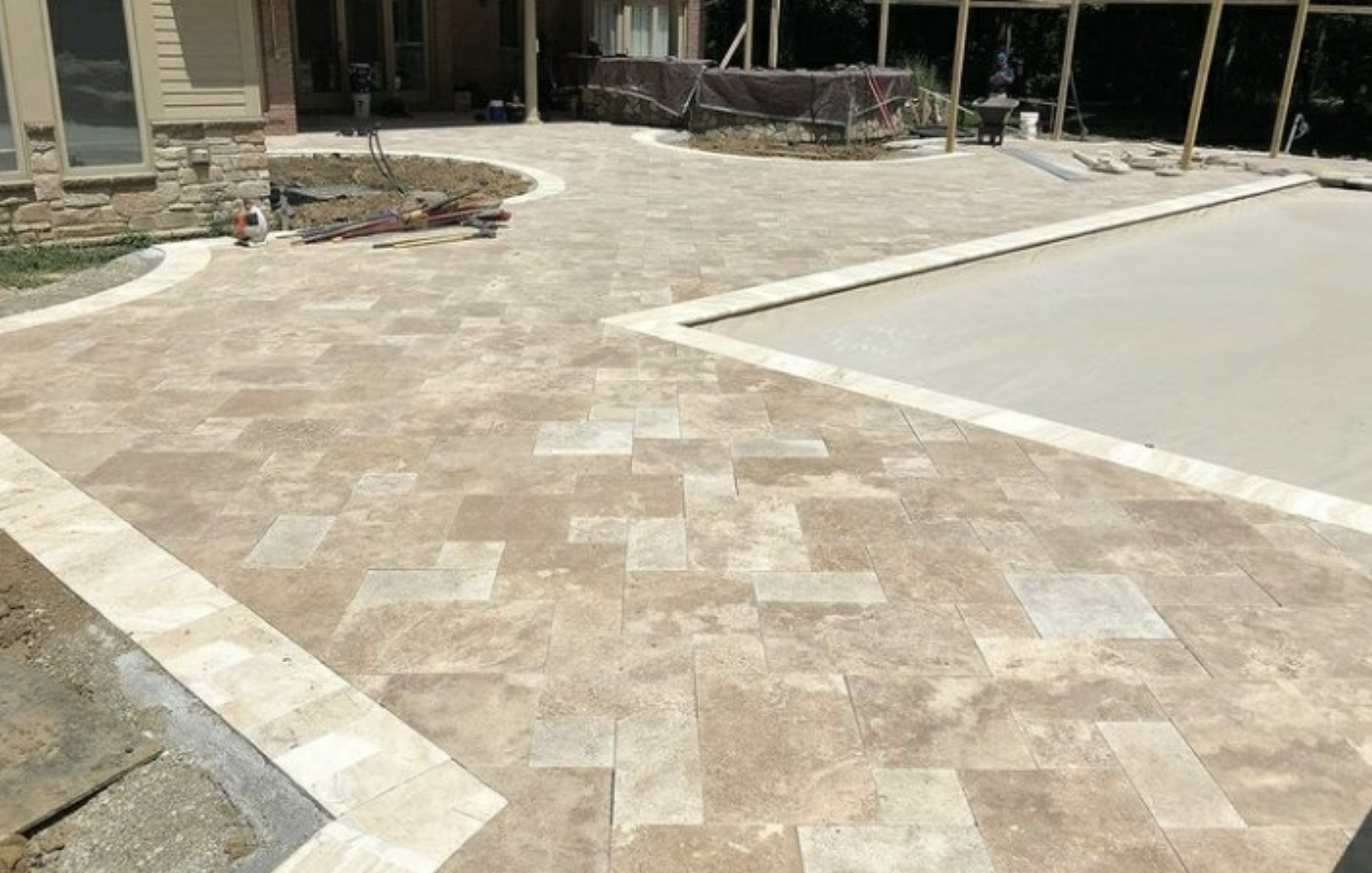 this image shows patios in concord, california