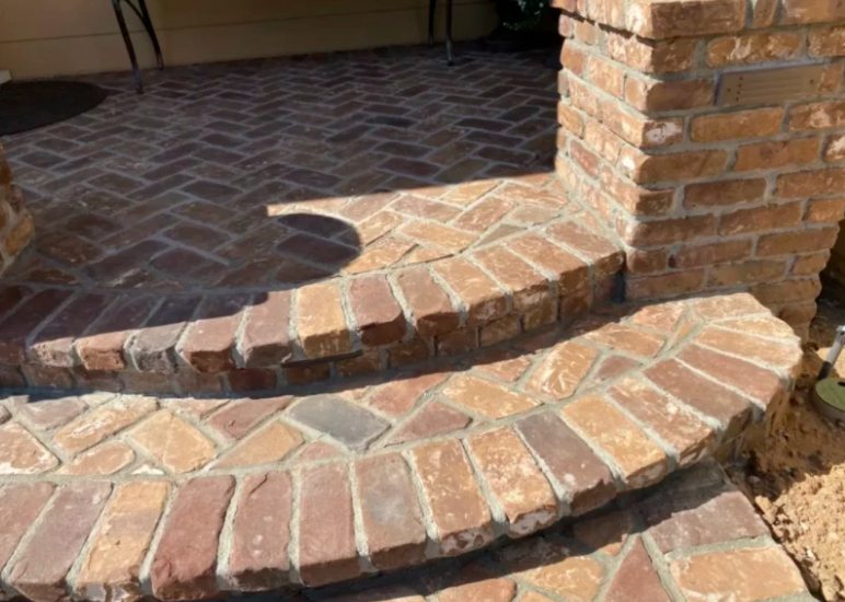 this image shows stone pavers in Concord, California